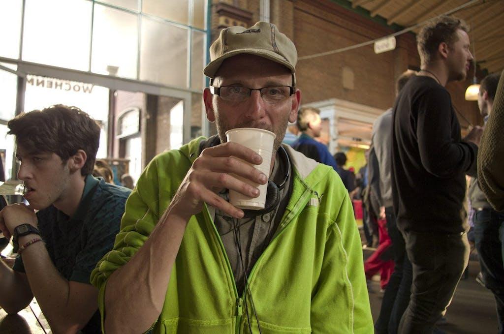 Leckere Getränke gibt es natürlich auch in der Markthalle
