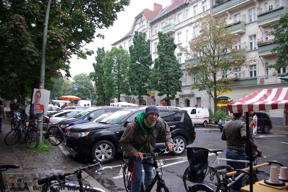 Mensch Fahrrad Strasse