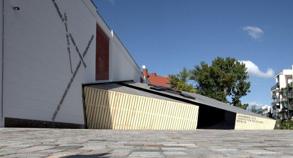 Die ehemalige Blumenmarkthalle in Kreuzberg gehört heute zum jüdischen Museum Berlin