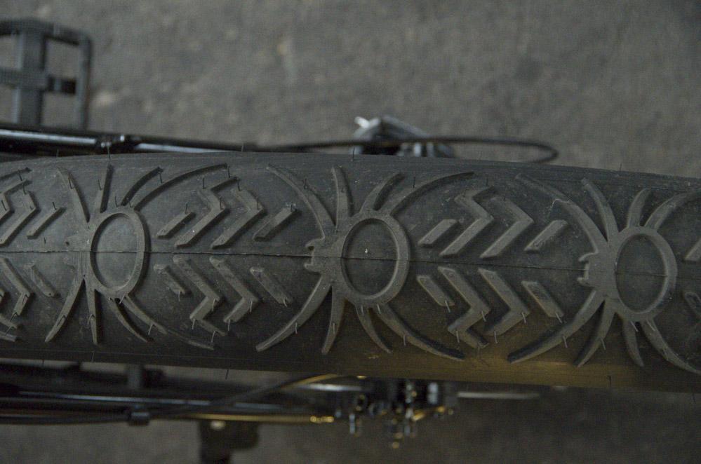 spezielles Reifenprofil