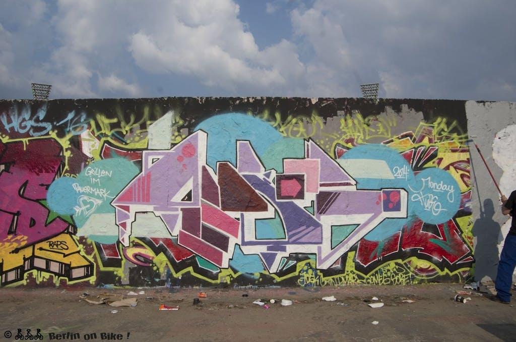 graffiti mauer