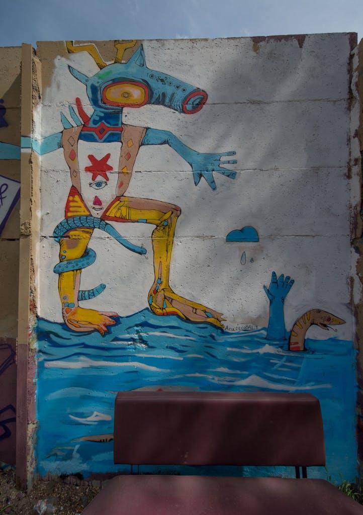 Streetart im Yaam
