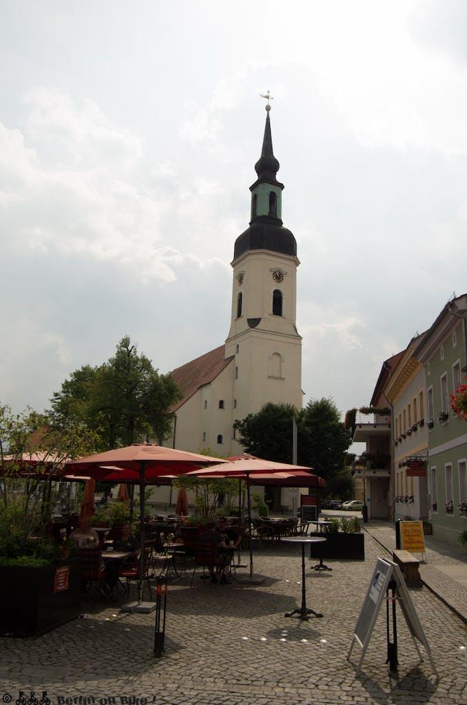 Marktplatz in Lübbenau / Spreewald