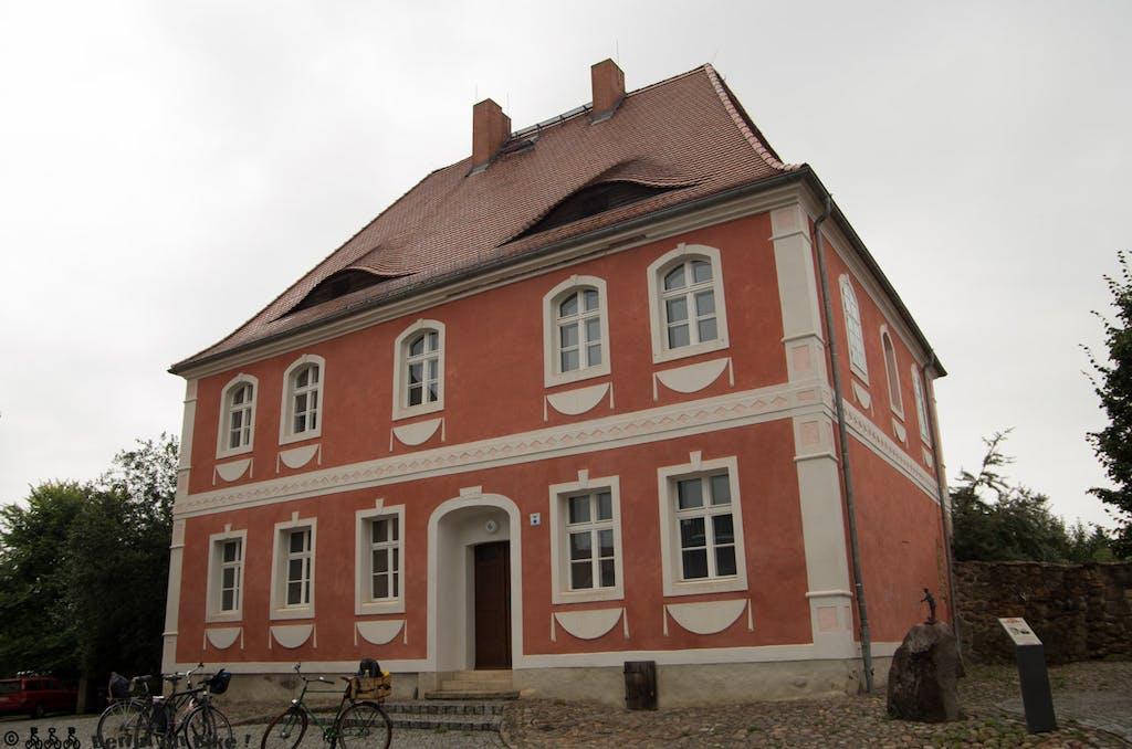 Gutshaus in Calau - Teil des Witzerundwegs.