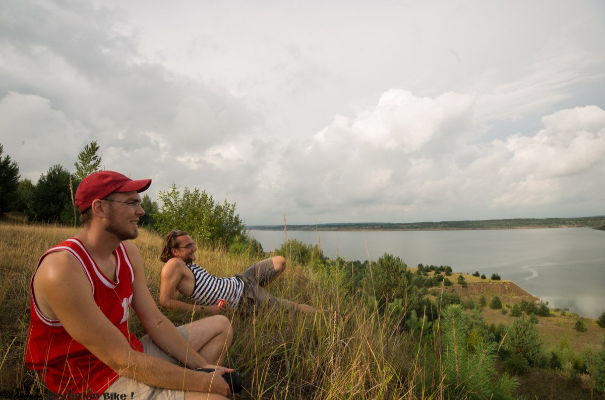 Blick über den Altdöberner See