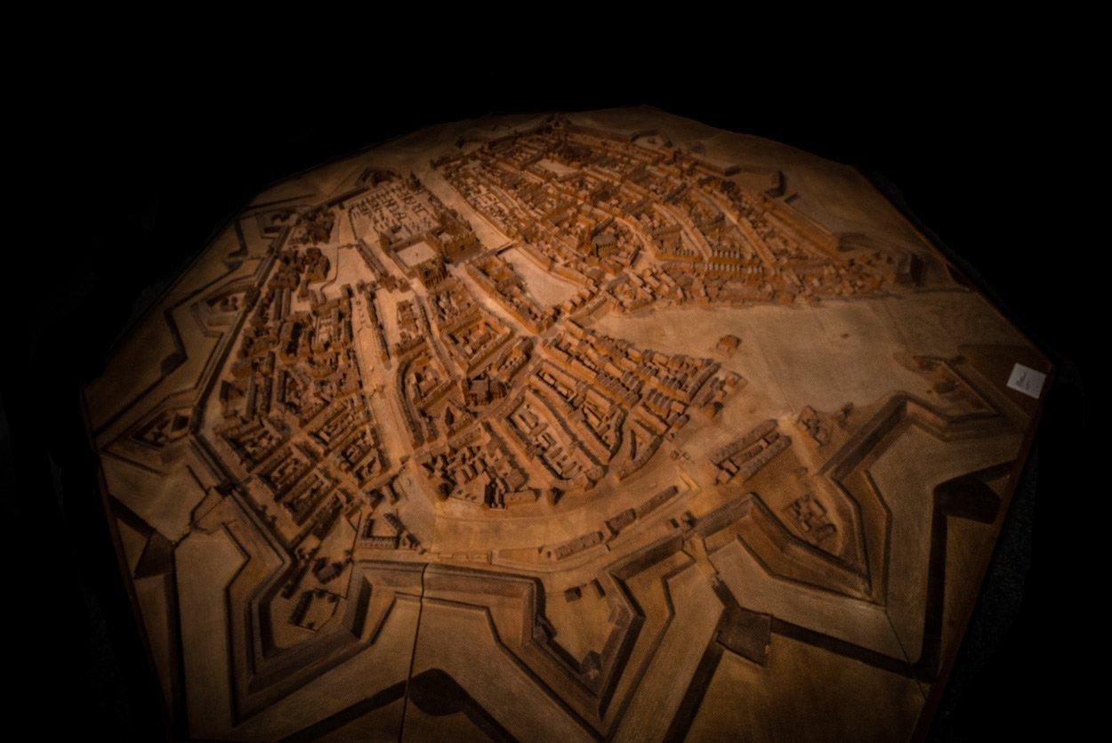Die Berliner Stern-Festung um 1680