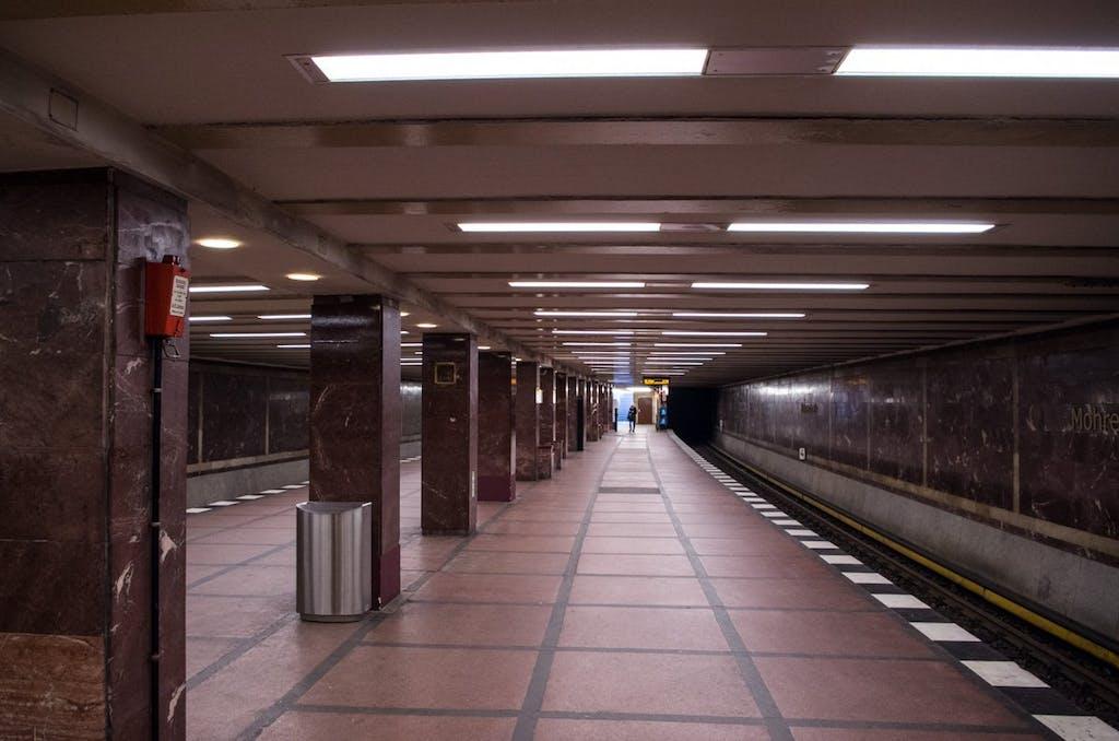 Mohrenstraße: Vorbild in der DDR war die Moskauer Metro.