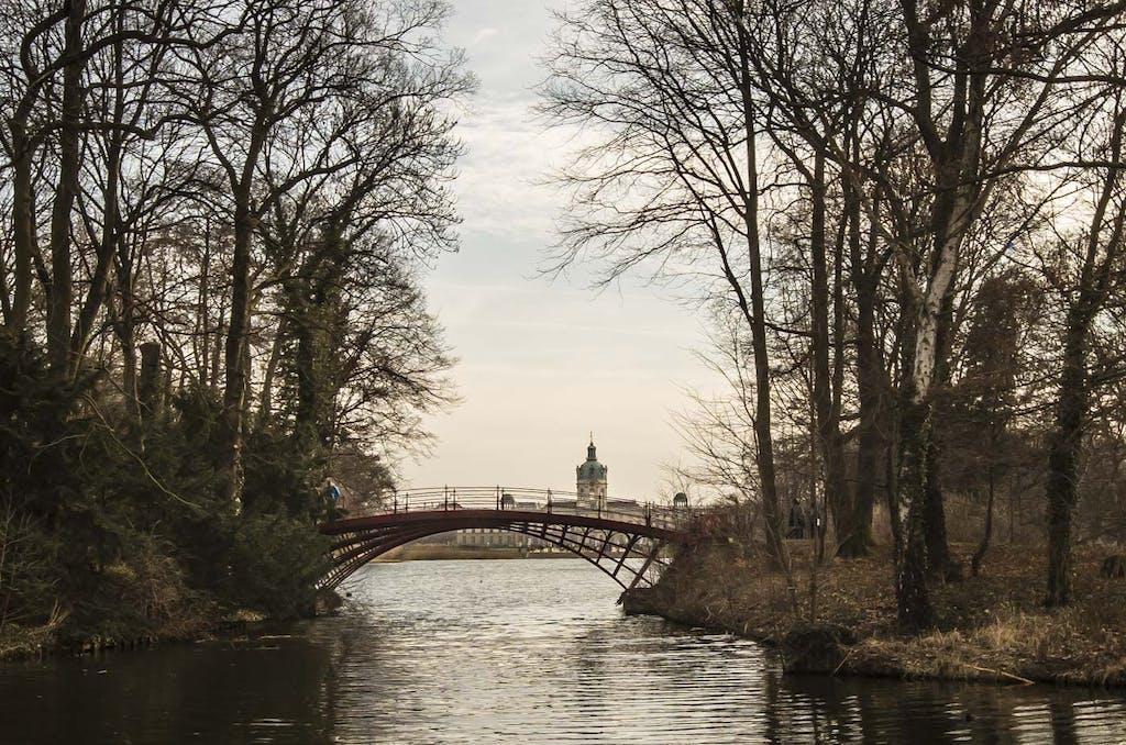 Brücke im Schlosspark Charlottenburg
