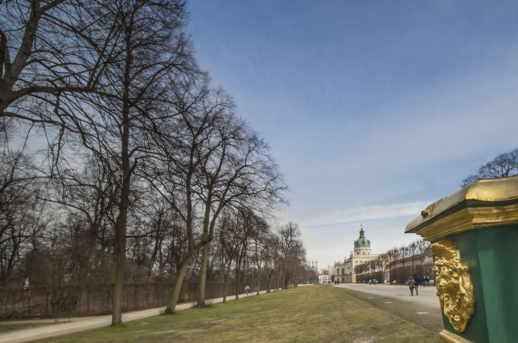 Rückseite des Schloss Charlottenburg