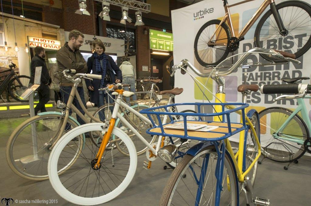 Urbike bietet vielseitig individualisierbare Räder zu massentauglichen Preisen. Je nach Modell könnt Ihr einem guten Dutzend Anbau- und Rahmenteilen eine unterschiedliche Farbe verpassen.