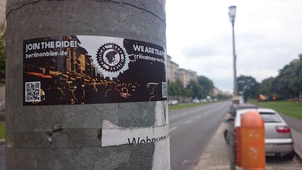 CM-Berlin Sticker in freier Wildbahn