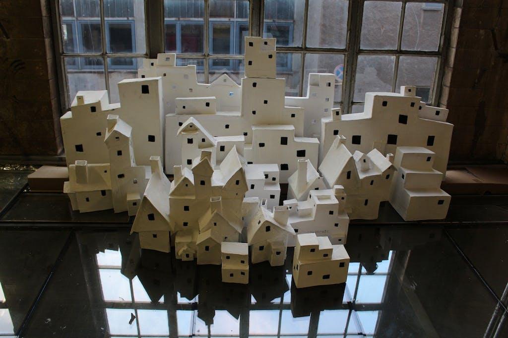 Vogelhäuschen @ G11 Galerie LANDSCAPE - METROPOLIS im Industriesalon Schöneweide