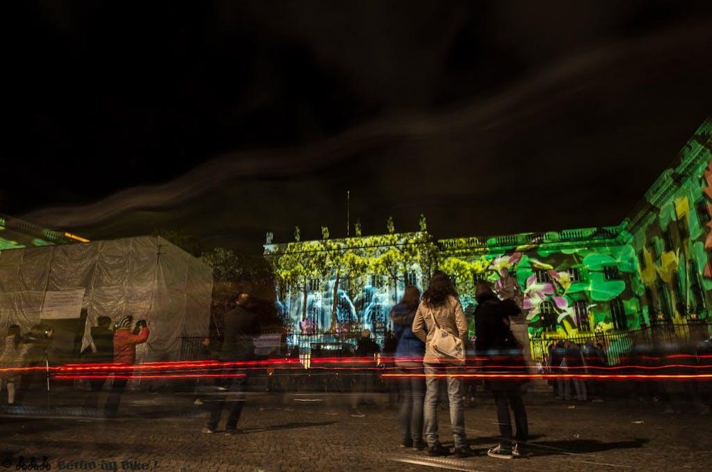 Biketour zum Festival of Lights 2014 - Bebelplatz, Hotel de Rome