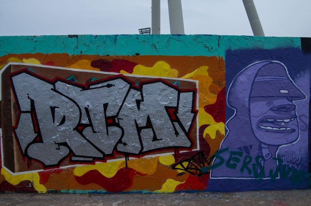Streetart im Berliner Mauerpark