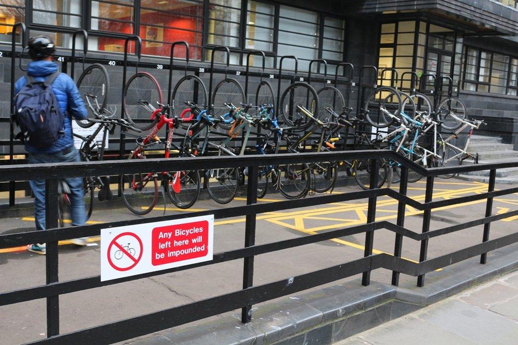 LDN Ride 16 ... some bike racks