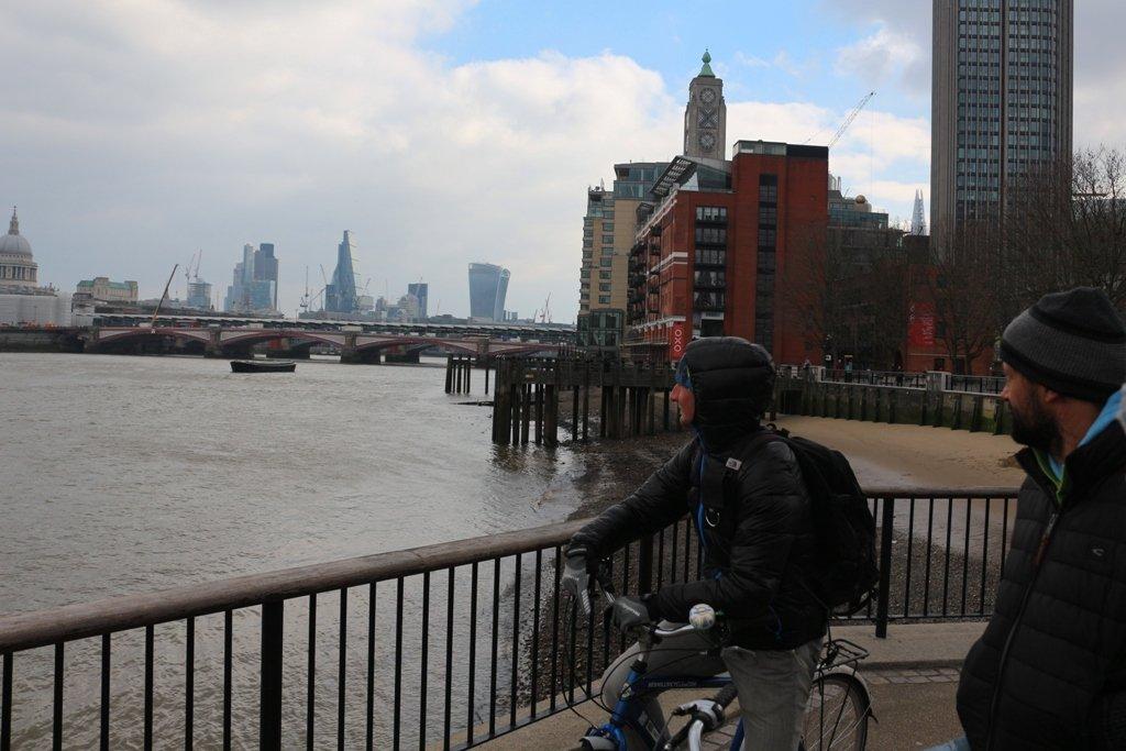 LDN Ride 20 LBTC Tour at Thames