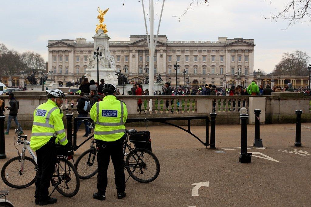 LDN Ride 21 Metropolitin Police on bikes