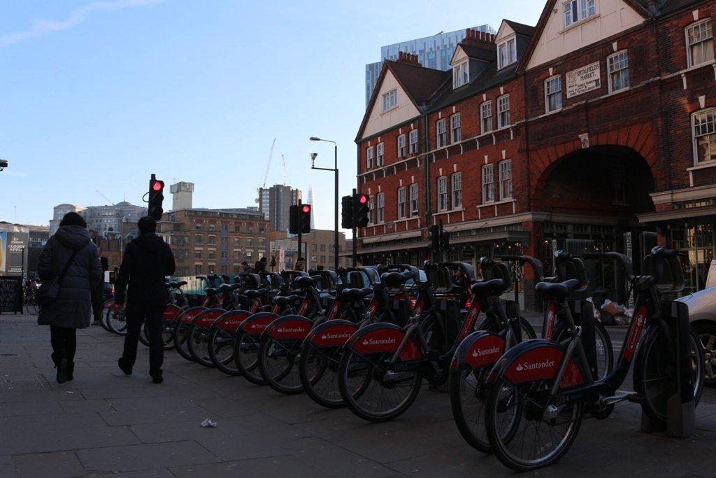 LDN Ride 04 Boris Bikes