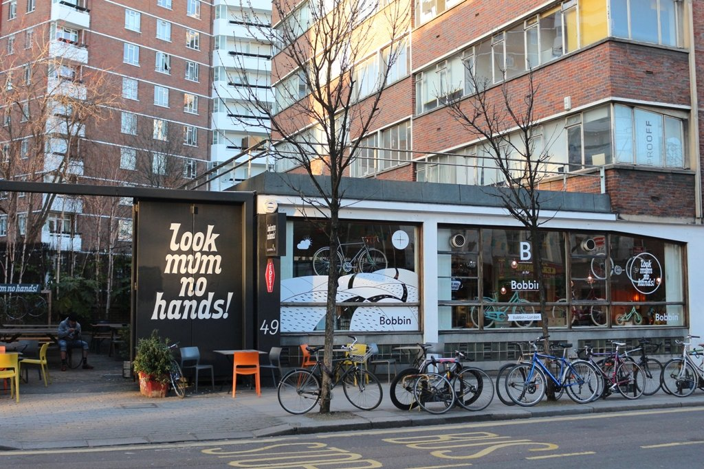 LDN Ride 06 Bike Cafe - Look Mum No Hands
