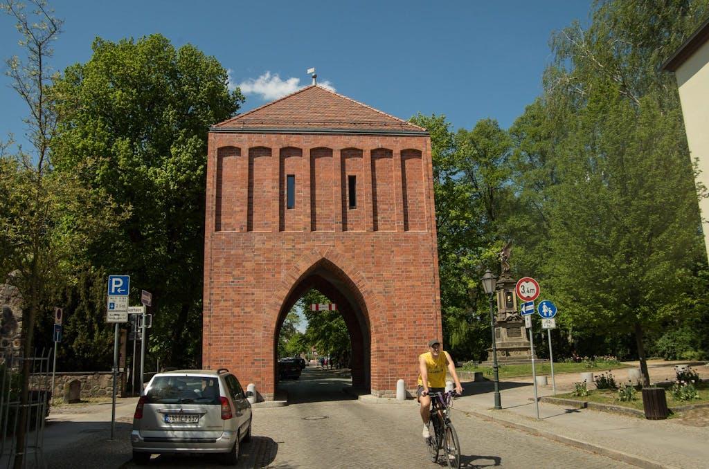 Eines der mittelalterlichen Stadttore von Bernau
