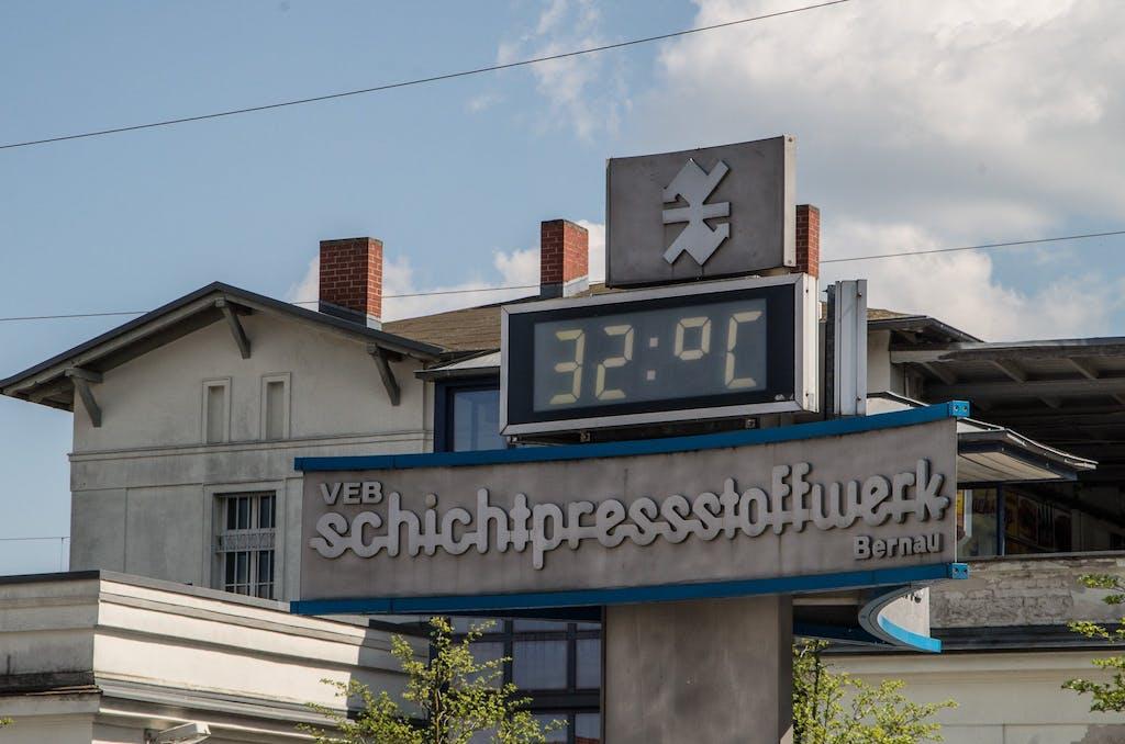Tja, in Bernau wird eben noch Wert auf Tradition gelegt