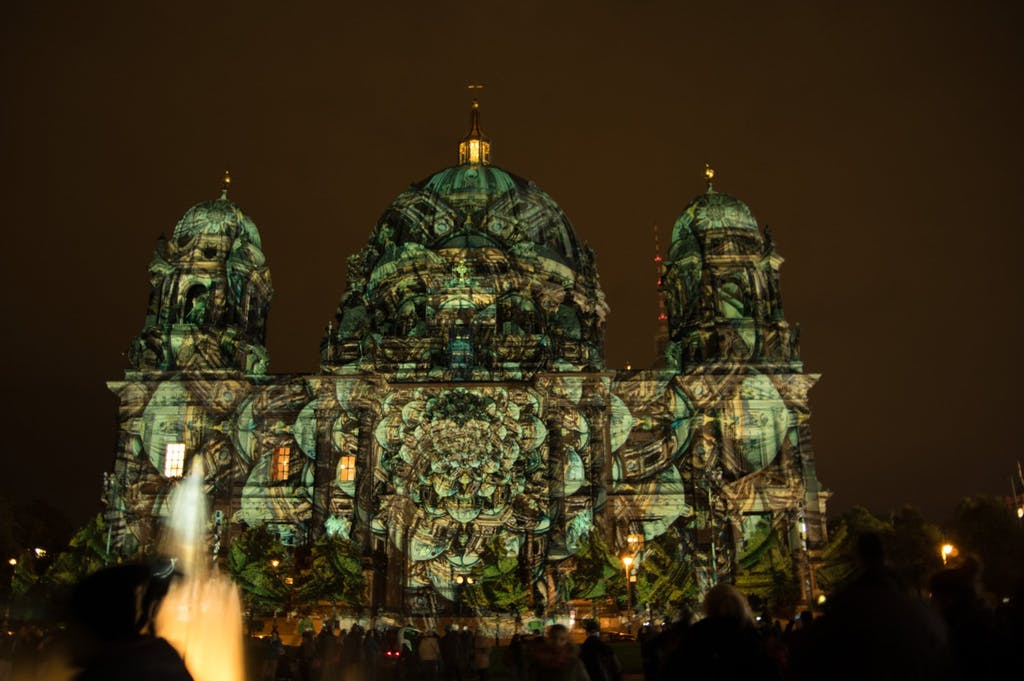 Festival of Lights am Lustgarten und Berliner Dom 2016