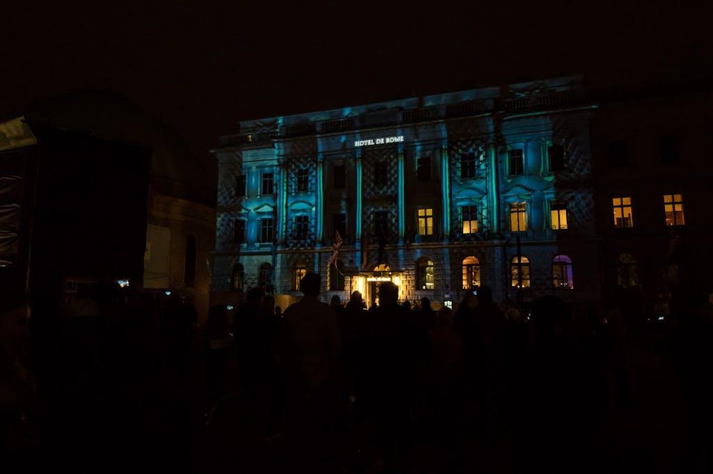 Bebelplatz, Festival of Lights Berlin 2016