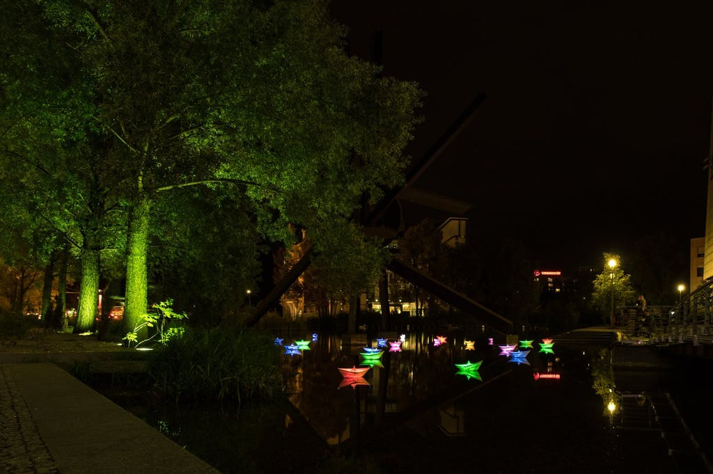 Pianosee beim Festival of Lights 2016
