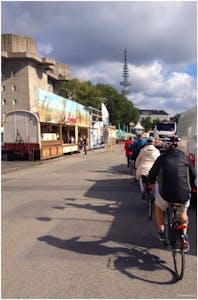 Fahrradtour Heiligengeistfeld Flakturm