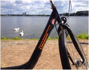 Außenalster Fahrradtour Hamburg City Cycles
