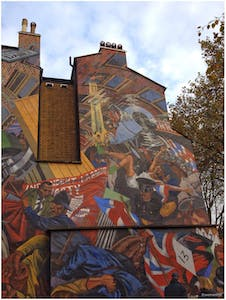 London Bicycle Tour - Cable Street Mural