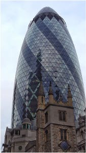 London Bicycle Tour - The Gherkin
