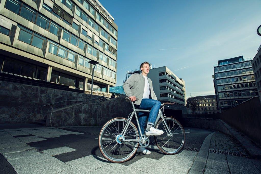 Auch der Hersteller Coboc unterstütz uns mit Pedelecs für unsere Radtouren bei der Fahrradschau