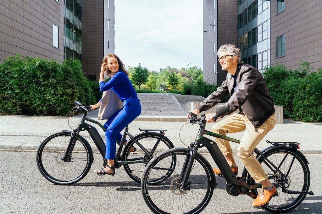 Pedelecs von Kalkhoff für den Mauer-Ride bei der Bicycle Week