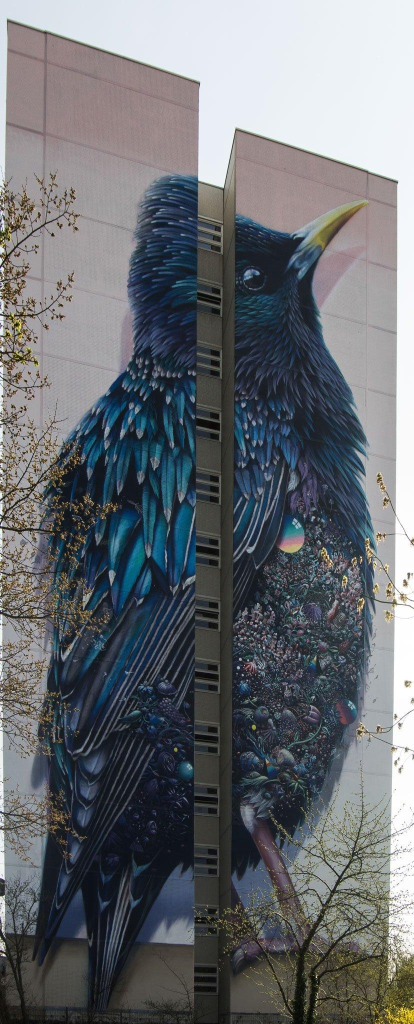 Urban Nation One Wall von Collin van der Sluijs und Mr. Super A in Tegel: Sterling