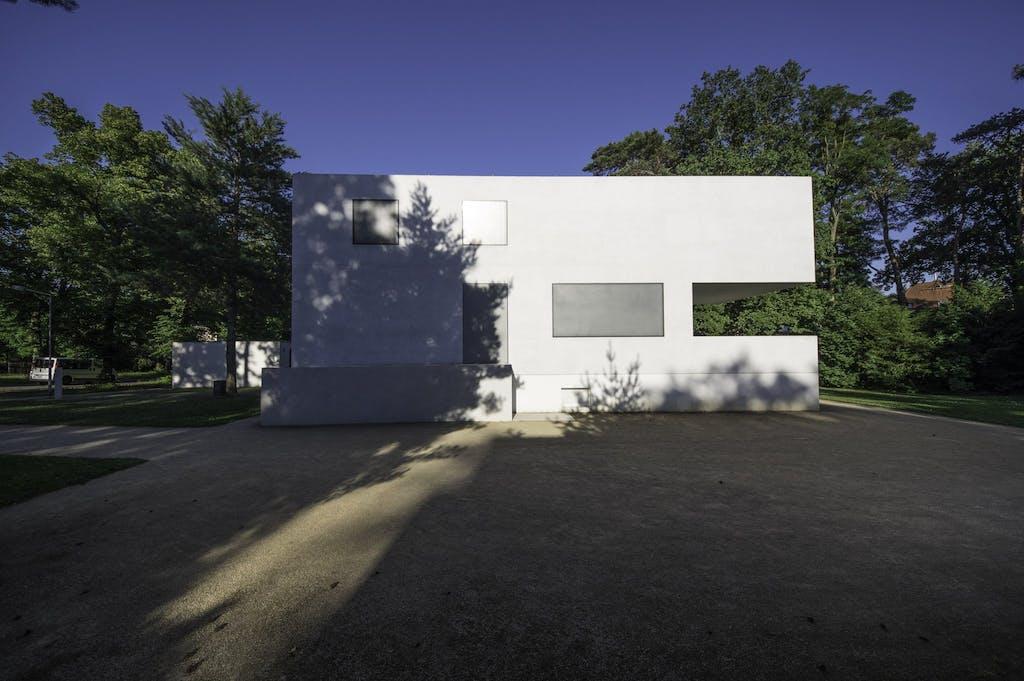 Meisterhaus von und für den Architekten Walter Gropius am Bauhaus in Dessau.