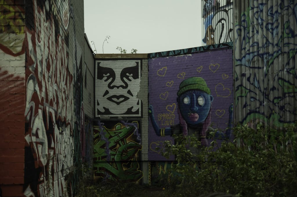 Obey the Giant/Shepard FAirey at Teufelsberg