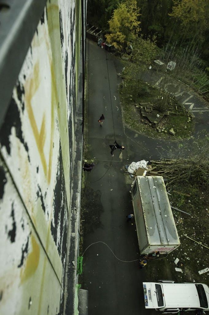 Vertical Dance at Teufelsberg radar station