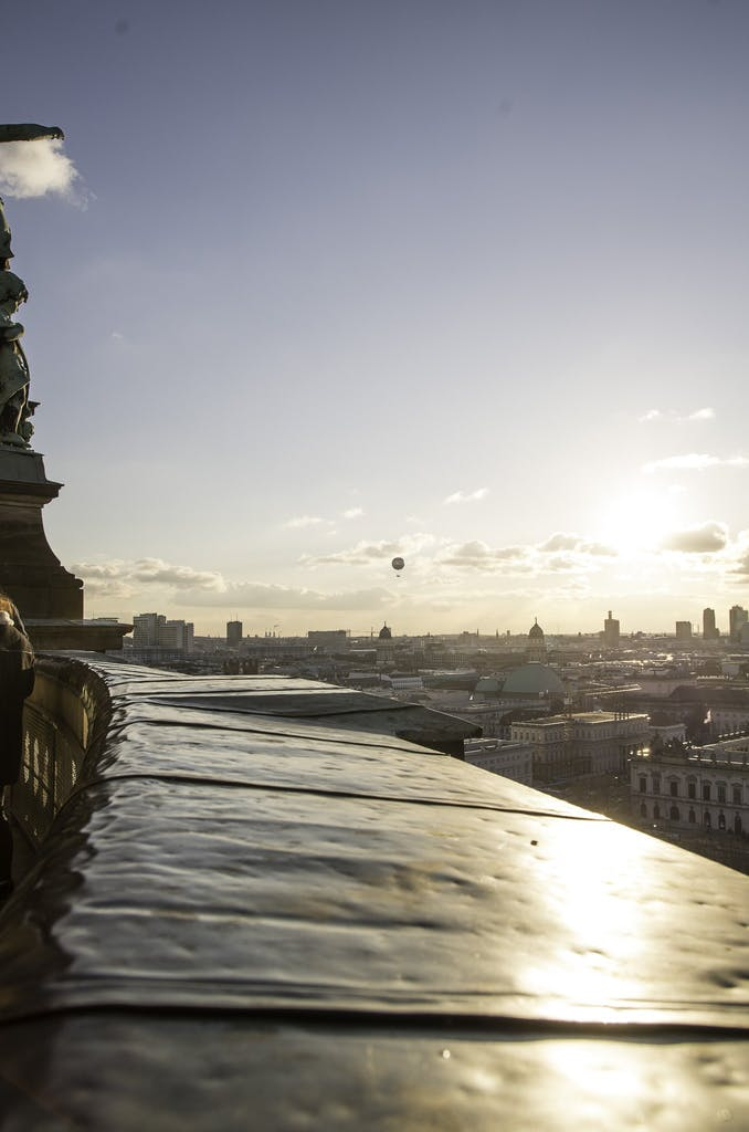 View from top of Berlin cathedral