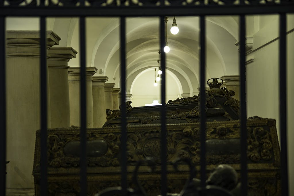 View of the crypt Berlin cathedral