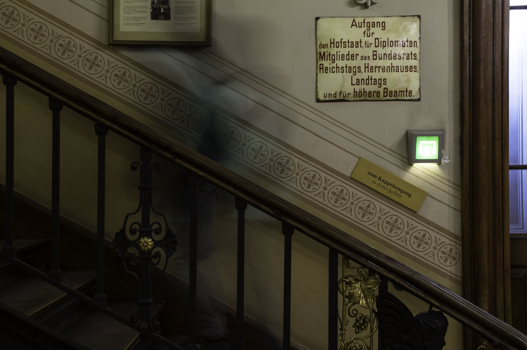 Staircase Berlin cathedral