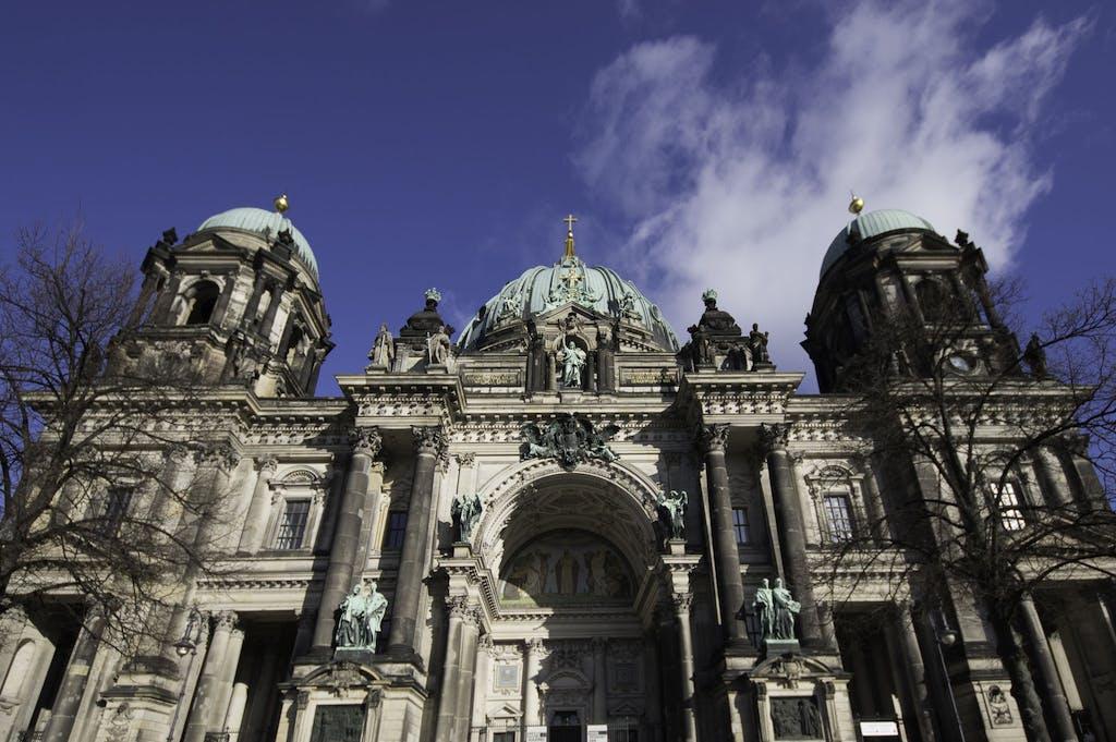 Facade Berlin cathedral