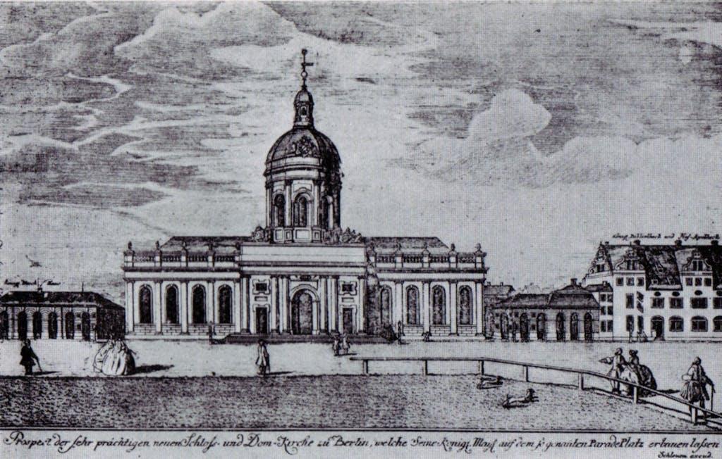 Knobelsdorff church around 1736