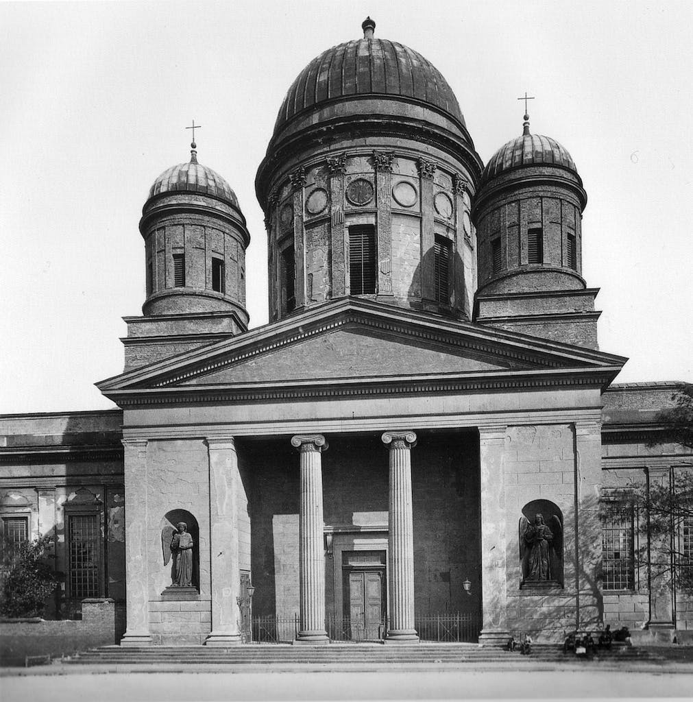 Schinkel's old cathedral 1892
