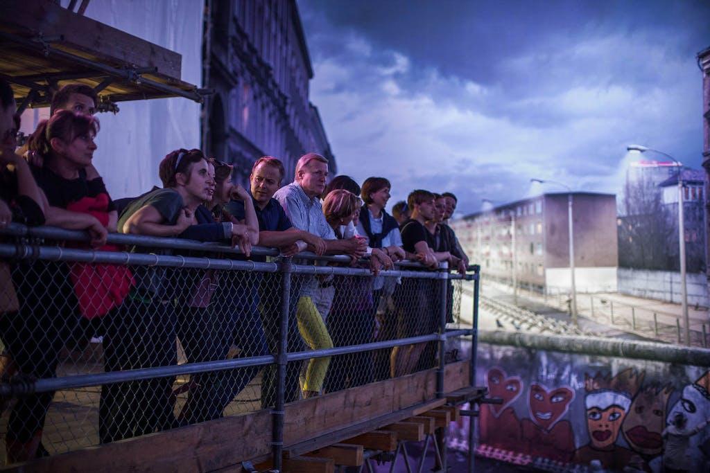 Menschen Panorama Ausstellung