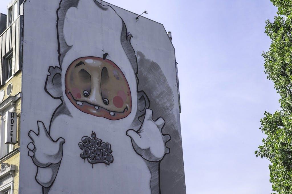 Die Dixons Mural Berlin Mural Fest