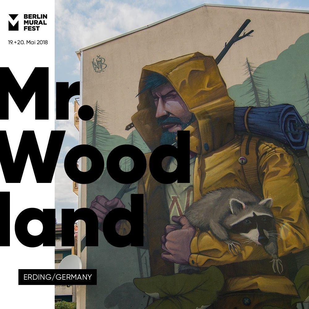 Mr. Woodland Mural Fest