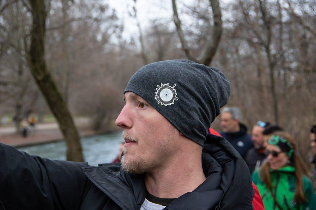 Mr. Radius-Tours Daniel, our host in Munich. Cool hat, eh?