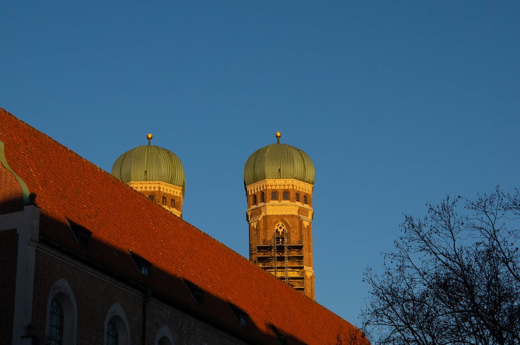 We will explicitly not talk about what those Frauenkirche towers remind us of