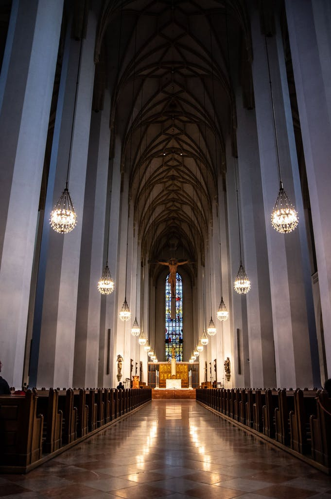 The interior of Frauenkirche is just as impressive as its outside